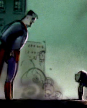 I was looking for reference and came across this wonderful Superman short from an incredible visual development artist Chris Appelhans .