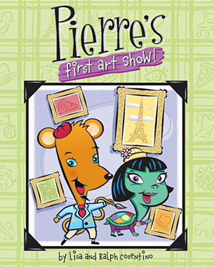 "Pierre is an artist that paints with his tale and Pal'ette is his faithful sidekick. ""Pierre First Show"" will help children become aware of and appreciate the world around them as well as inspire their own creativity! Parents and children will also recognize characters based on famous artists."