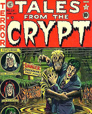 Tales From the Crypt Issue 24 Cover
