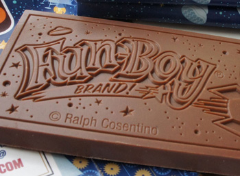 Fun-Boy Brand Chocolate in Retail Stores!