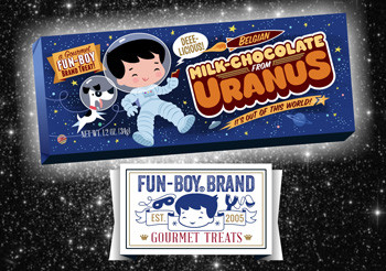 Delicious Milk Chocolate from Uranus Commercial