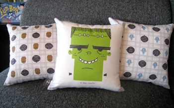 Say Whaaat?! Monster Pillows!