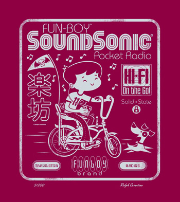 Soundsonic Letterpress Print