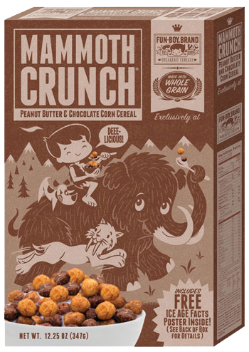 Fun-boy Brand Faux Cereal!