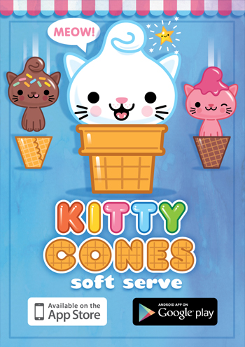Kitty Cones Mobile Game