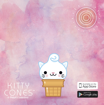 Kitty Cones Cartoon E02