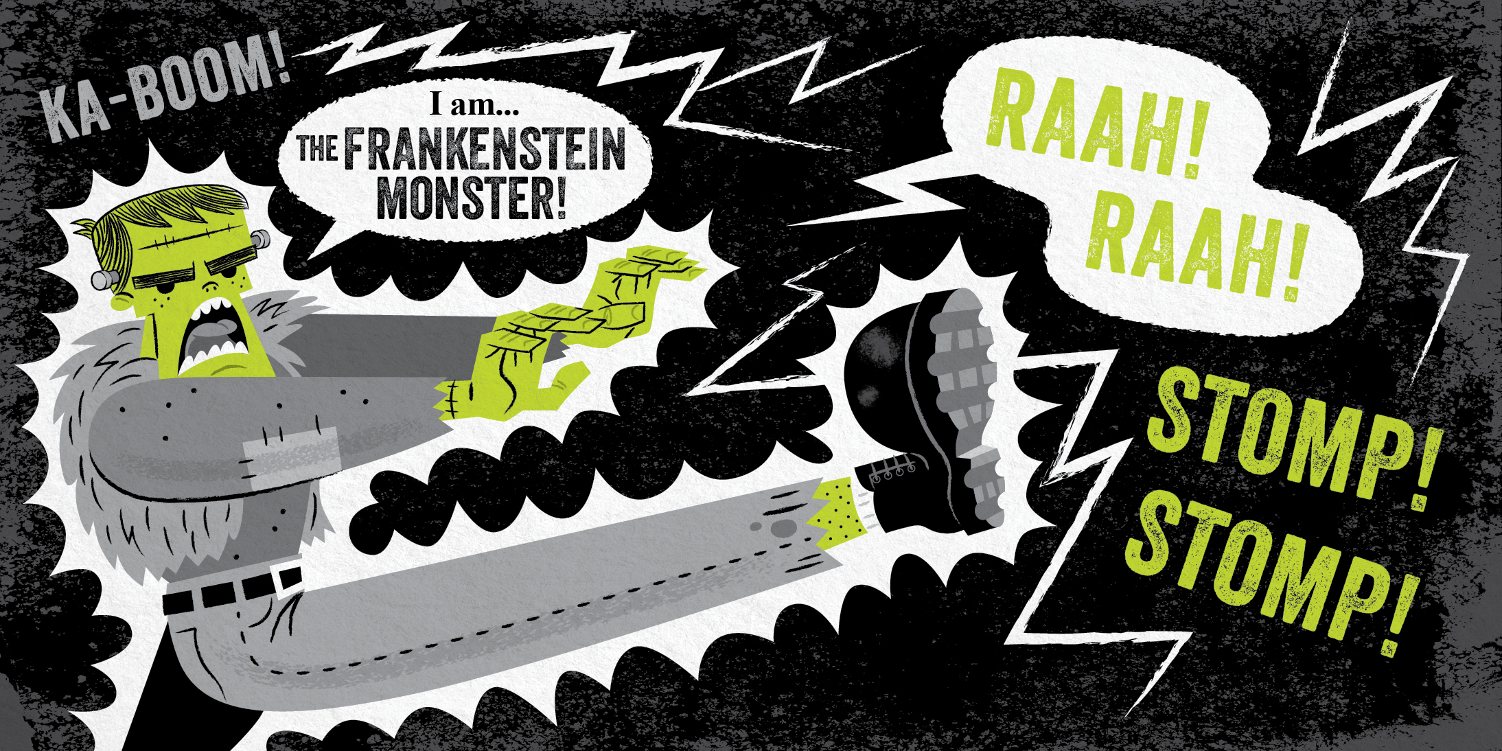 understanding the frankenstein monster Example frankenstein plot diagram exposition victor frankenstein is found chasing a monster at the north pole he meets captain walton, who is on a scientific expedition.