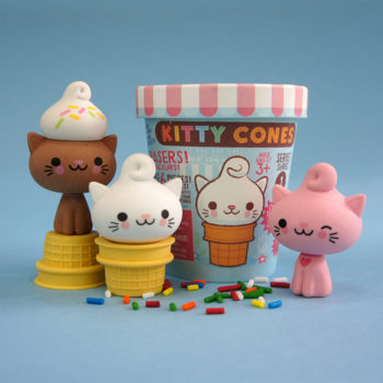 Kitty Cones Erasers are Here!